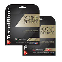 Tecnifibre X-one Biphase Tennis String - 12m - Red Or Natural - Free Uk P&p - tecnifibre - ebay.co.uk