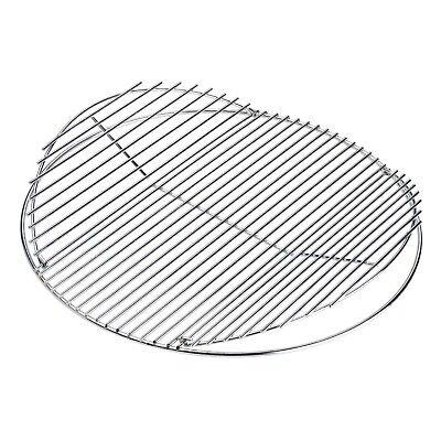 LANDMANN Rundgrillrost Grillgitter BBQ Grillrost aufklappbar 55 cm Verchromt