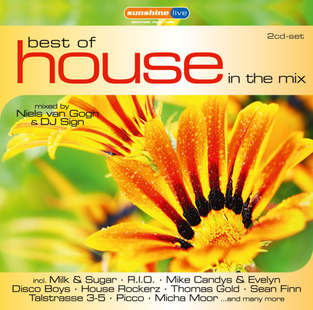 CD House In The Mix Best Of von Various Artists 2CDs