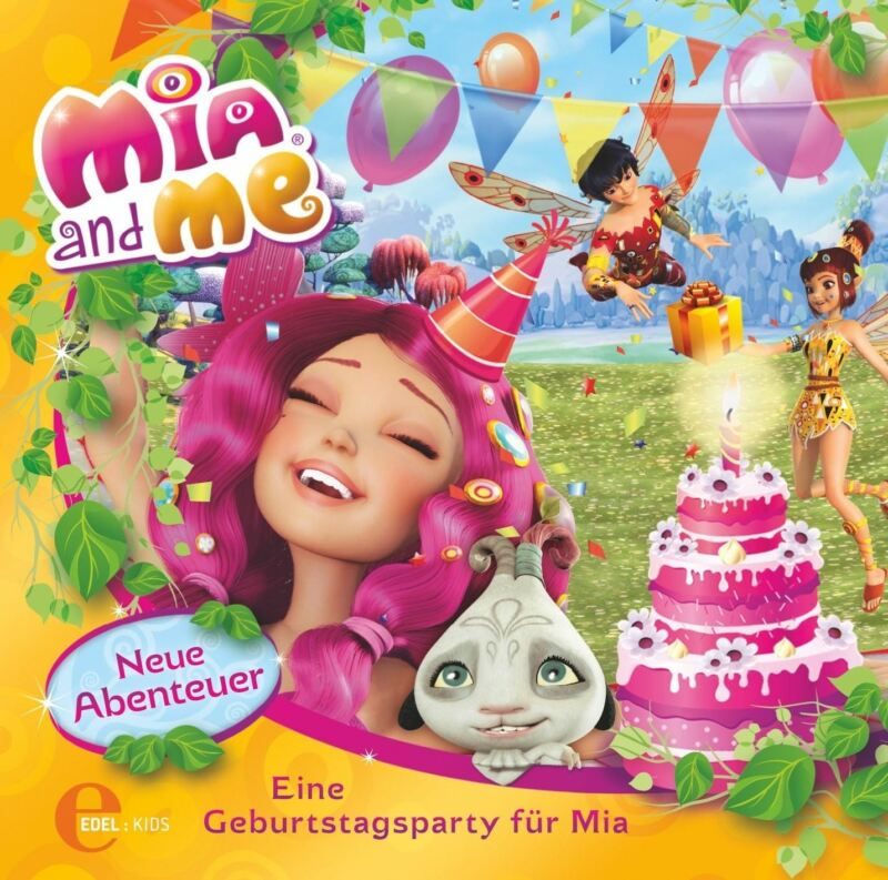 MIA AND ME - (3)ORIG.HSP Z.BUCH-EINE GEBURTSTAGSPARTY FÜR MIA  CD NEU