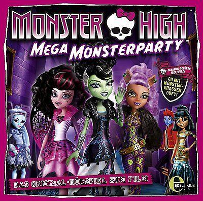 CD * MONSTER HIGH - MEGA MONSTERPARTY - Originalhörspiel Kinofilm  # NEU OVP &