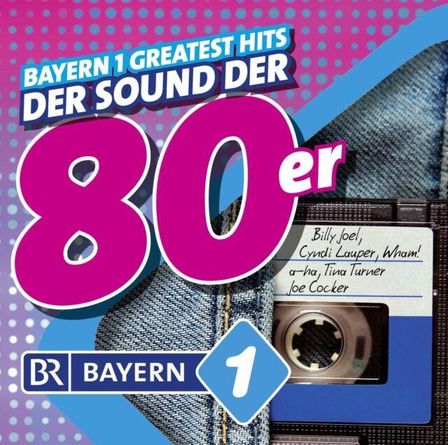 BAYERN 1-DIE 80ER  ARBEITSTITEL( Diana Ross, Bonnie Tyler, Joe Cocker) 2 CD NEU