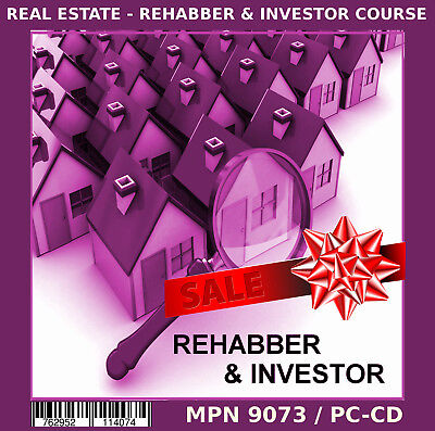 ON SALE NOW - REI REAL ESTATE REHABBING COURSE BEGINNER A / V, EBOOKS & MORE!