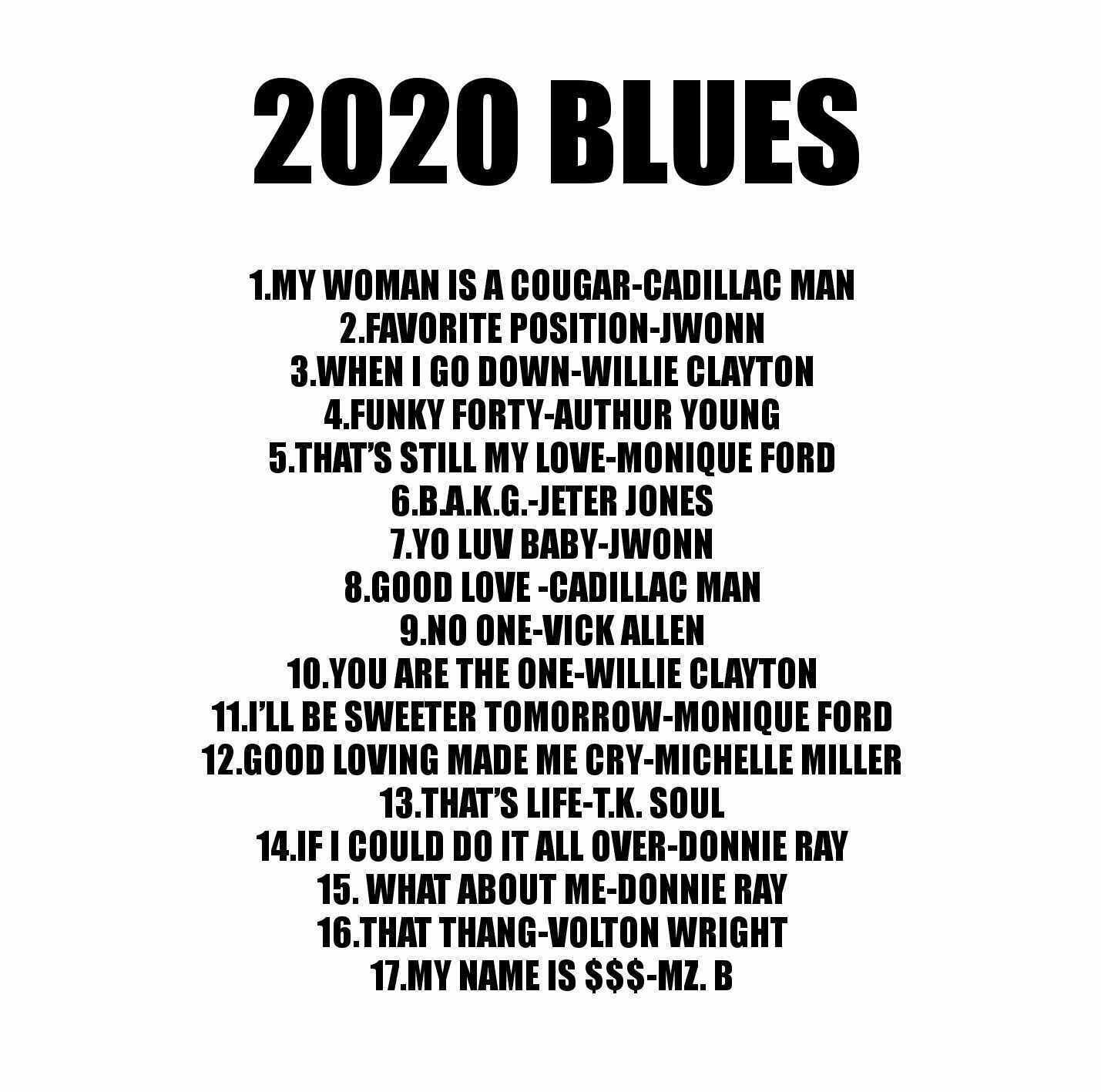 "как выглядит ""2020 BLUES"" Southern Soul Mix фото"