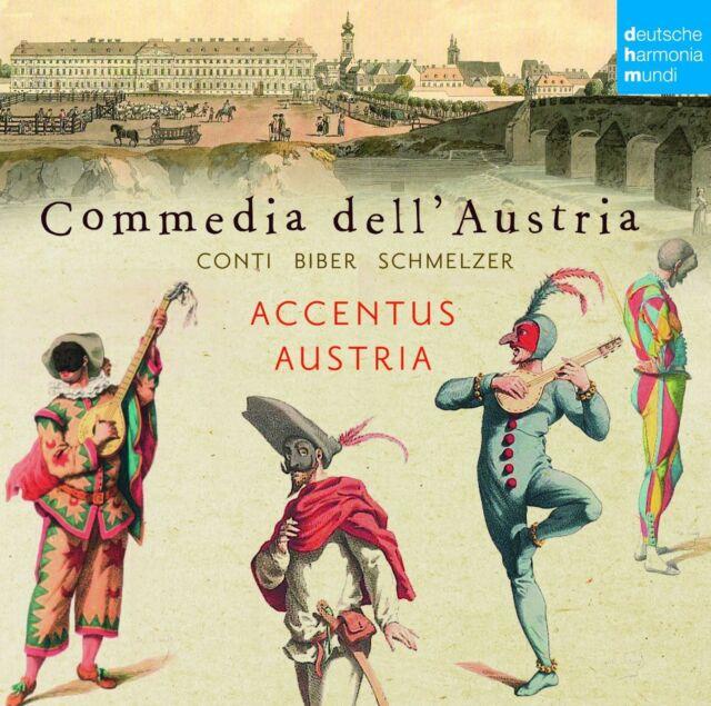 ACCENTUS AUSTRIA - COMMEDIA DELL'AUSTRIA  CD NEU