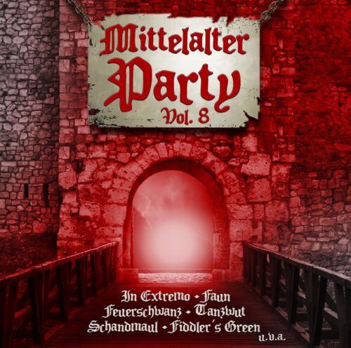 MITTELALTER PARTY VOL.8 VIII CD 2017 Schandmaul FAUN In Extremo FEUERSCHWANZ
