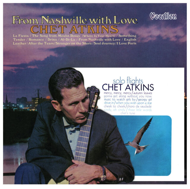 Chet Atkins From Nashville with Love & Solo Flights - CDLK4569