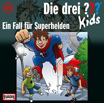 CD * DIE DREI ??? (FRAGEZEICHEN) KIDS - 45 - EIN FALL FÜR SUPERHELDEN # NEU OVP=