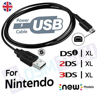 Charger Cable For Nintendo DSi / DSi XL / 3DS / 3DS...