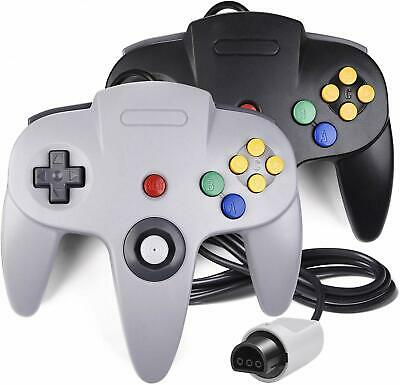 2 Pack Classic N64 Controller Gamepad Joystick for Ultra 64 Video Game Console