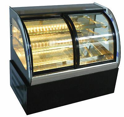 Techtongda Countertop Cake Showcase 36 Glass Display Case 220varc Front Door