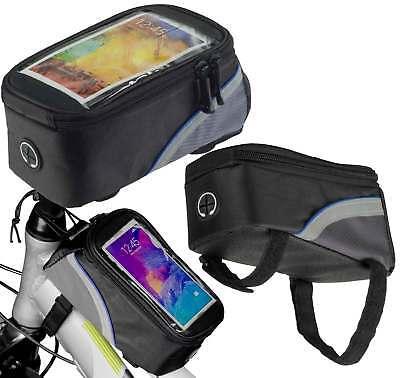 Fahrradtasche Rahmentasche Bag Etui Tasche Rad Bike Hülle für Archos 50 Helium+