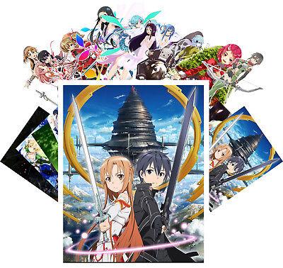 24 Postkarten Set * Sword Art Online SAO Anime Manga SciFi CA6002