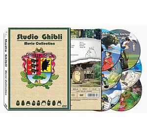 STUDIO GHIBLI 17 MOVIE DVD COLLECTION Hayao Miyazaki Best ENGLISH Language Track