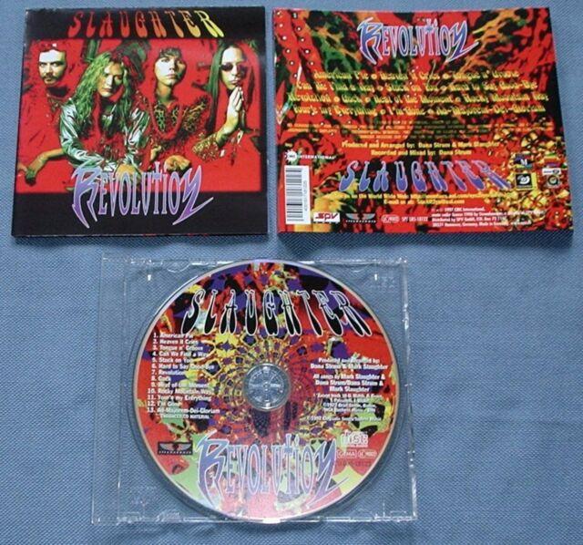 CD von Slaughter - Revolution