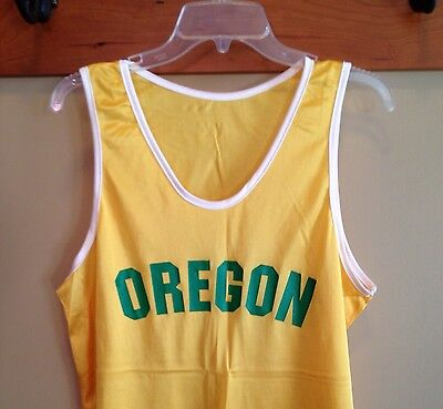 Oregon Track Singlet Replica Prefontaine Mens Small Runner's Halloween Costume (Olympic Halloween Costume)