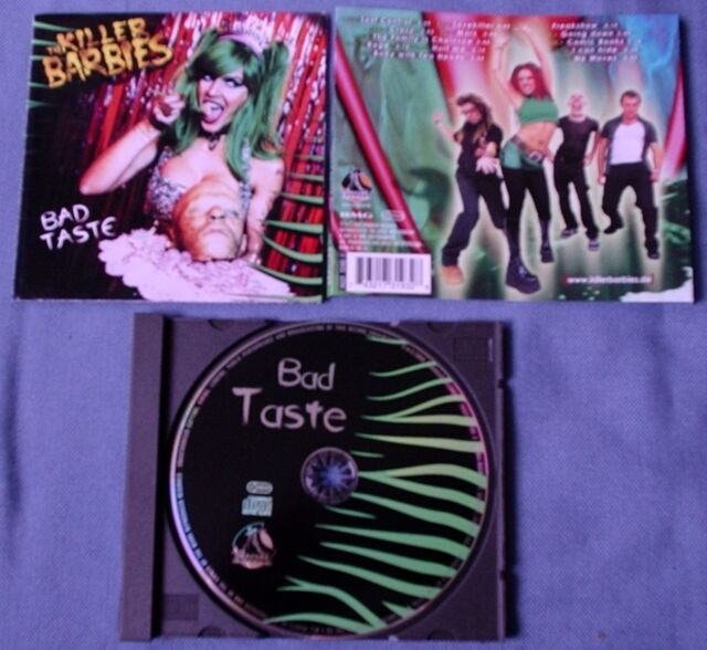 CD von  The Killer Barbies ‎– Bad Taste