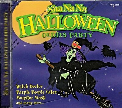 Sha Na Na HALLOWEEN OLDIES PARTY: CLASSIC FIFTIES DOO WOP HOLIDAY MUSIC CD! OOP!](Halloween Oldies Party)