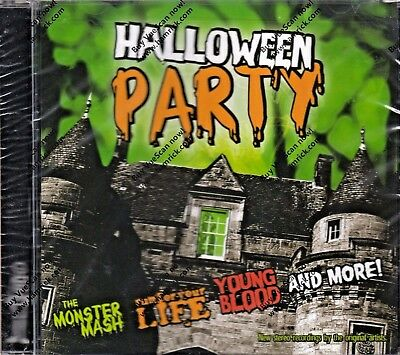 HALLOWEEN PARTY: 10 HOLIDAY CLASSICS BY THE ORIGINAL ARTISTS! (CD, 2004) OOP/NEW - Halloween Party Music Original Artists