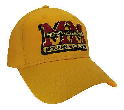 Minneapolis Moline Tractor Farm Embroidered Cap Hat 40-9100gv