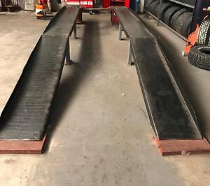 CAR ALIGNMENT RAMP / VEHICLE HOIST / VEHICLE SERVICE INSPECT RAMP Miami Gold Coast South Preview