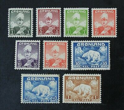CKStamps: Finland Stamps Collection Scott#1-9 Mint 8NH OG #8 H Thin