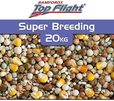 Super Breeding Pigeon Food Seed 20kg by Bamfords Top Flight Pigeons BMFD DS