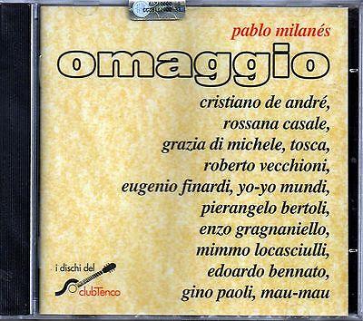 OMAGGIO A PABLO MILANES - CD NUOVO SIGILLATO DE ANDRE' TOSCA LOCASCIULLI CASALE segunda mano  Embacar hacia Spain