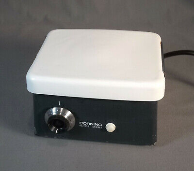 Corning Magnetic Stirrer Model Pc-353 Ceramic Top Variable Speed