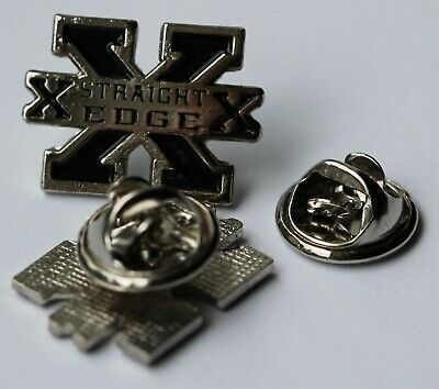 STRAIGHT EDGE BLACK PIN (MBA 712)