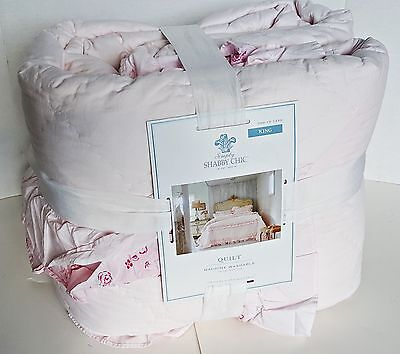 Totally Shabby Chic Quilt - KING