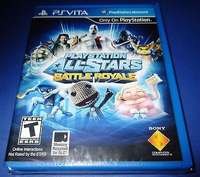 Playstation All-Stars Battle Royale - Playstation Vita - New!! Free Shipping!!