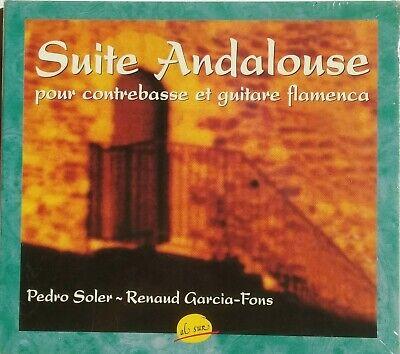 CD SUITE ANDALOUSE POUR CONTREBASSE ET GUITARE FLAMENCA