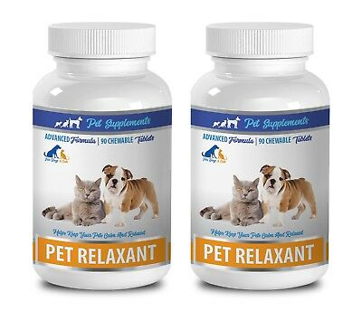 dog anxiety supplement - RELAXANT FOR DOGS AND CATS 2B- tryptophan dog treats