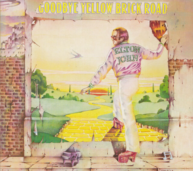 ELTON JOHN - 2 CD - GOOODBYE YELLOW BRICK ROAD
