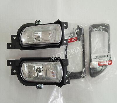 2006-2012 KIA SEDONA CANIVAL OEM Fog Lamp + Cover 4pcs Set