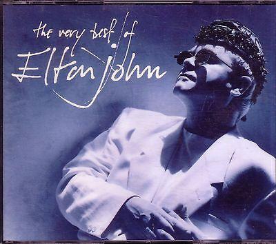 ELTON JOHN Very Best of PHONOGRAM 2CD Classic Great ROCKET MAN SAD SONGS