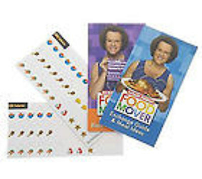 Richard Simmons Food Mover System  Set  Diet Workout Eat Lose Weight Sweatin New