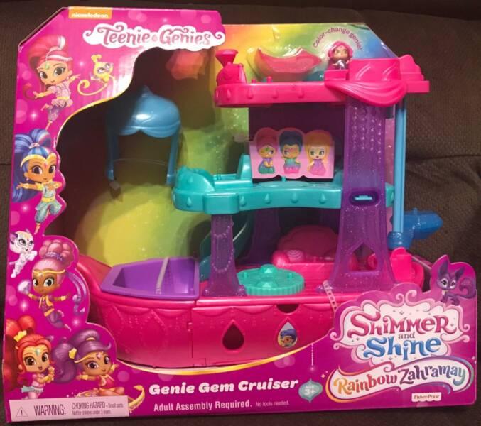 Shimmer and Shine - Teenie Genies Gem Cruiser | Toys
