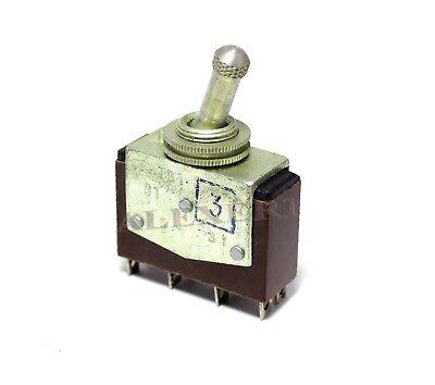 Vintage Toggle Switch Dpdt On-on Tv1-21 Ussr Nos
