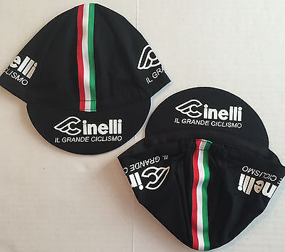 Cinelli Black Cycling Cap - Bike Hat