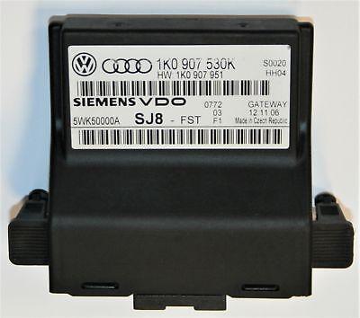 VW EOS Can Bus Gateway Computer Modul 1k0 907 530 K (Gateway-computer)