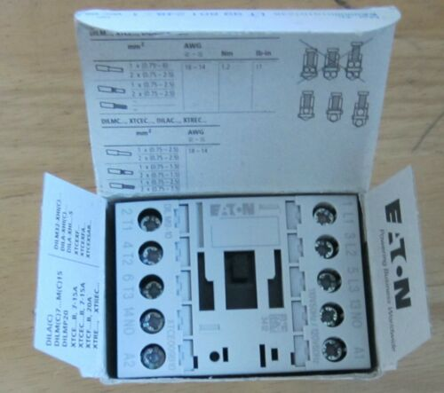 EATON DILM9-10 XTCE009B10A Contractor 4kW/400V AC Operated NEW Free Shipping !!!