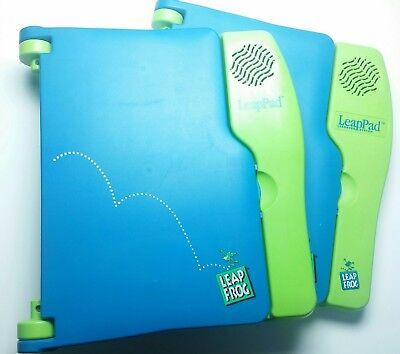 - Leapfrog LeapPad Two Units w/ 3 Books Leap Frog (1999) Reading Homeschool