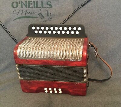 Hohner B/C button accordion nice used condition.
