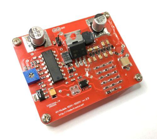 HV High Voltage Power Supply Kit for PMT Photomultiplier / Geiger tube 1500V max