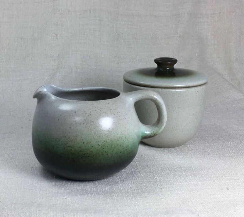 Heath Ceramics Sea and Sand Sugar/Creamer set w/ lid