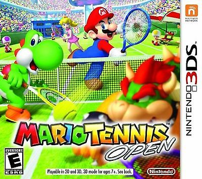Mario Tennis Open Nintendo 3DS Brand New and Sealed
