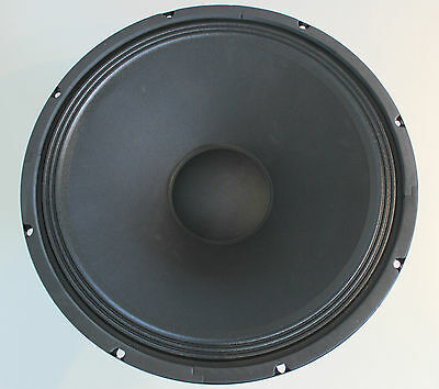 "2x Kenford PA 38cm 15"" Subwoofer 380mm Bass Lautsprecher Tieftöner 8Ohm PAAR"