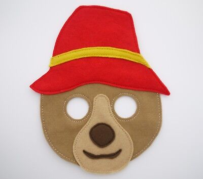 Boys Bear Costume (Bear inspired mask world book day costume boys girls gift party kids adult)